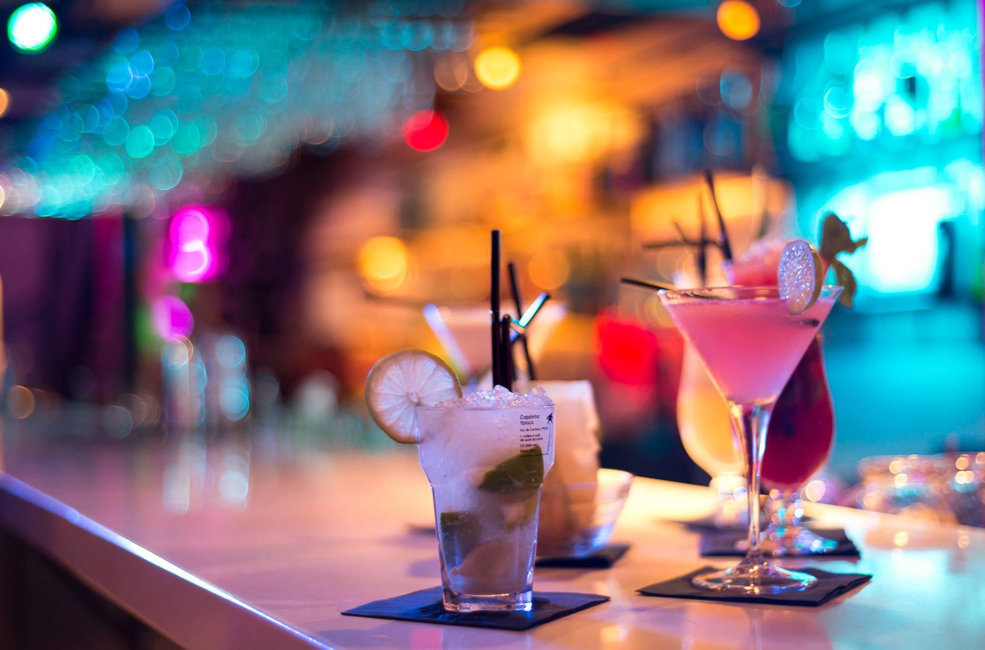 Les cocktails de Connexion Live.